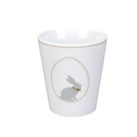 Porcelain mug -  Bunnies