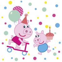 Napkins 33x33 cm - Cute Little Pigs