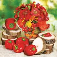 Serviettes 33x33 cm - Autumn Harvest