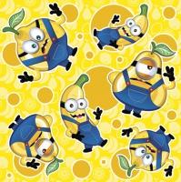 Napkins 33x33 cm - Crazy Fruits Boys