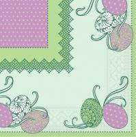 Tissue Servietten 33x33 cm - ANDY - gr�n