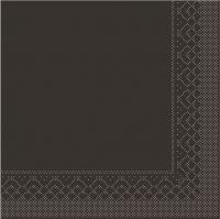 Tissue napkins 25x25 cm - BASIC  BRAUN  25x25 cm