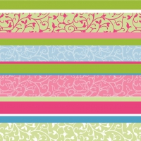 Tovaglioli in vetroresina 40x40 cm - Zara  (pink)