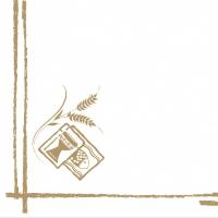 Serwetki Linclass 40x40 cm - Kommunion/Konfirmation