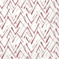 Tovaglioli in tessuto 33x33 cm - ZACK  (grau/bordeaux)