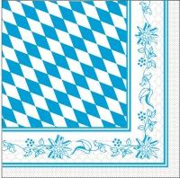 Tovaglioli in tessuto 33x33 cm - Bayern  33-er Format