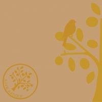 Serwetki Linclass 40x40 cm - Love Nature-Baum  (naturbraun)