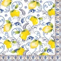 Serviettes 33x33 cm - Lemon Garden