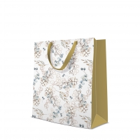 10 gift bags - Winter Leaves
