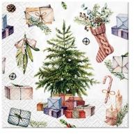 Servietten 25x25 cm - Christmas at Home