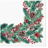 Servilletas 33x33 cm - Winter Branches