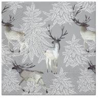 Servilletas 33x33 cm - Elks Forest