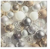 Serviettes 33x33 cm - Glamorous Christmas
