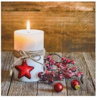 Serviettes 33x33 cm - Christmas Light