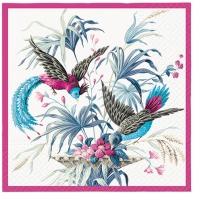 Serwetki 33x33 cm - Birds of Eden