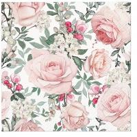 Serwetki 33x33 cm - Gorgeous Roses