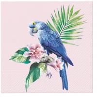 Serwetki 33x33 cm - Exotic Parrot