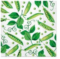Serviettes 33x33 cm - Fresh Green Pea