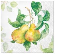 Serwetki 33x33 cm - Garden Pear
