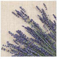 Napkins 33x33 cm - Lavender Sheaf