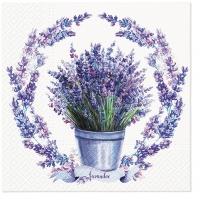 Napkins 33x33 cm - Soft Lavender