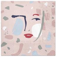 Napkins 33x33 cm - Face Shape