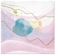 Napkins 33x33 cm - Watercolor Paint