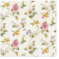 Napkins 33x33 cm - Tender Roses
