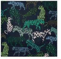 Servietten 33x33 cm - Jungle Prints