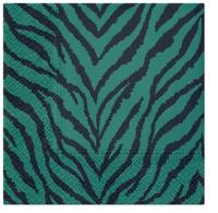 Servietten 33x33 cm - Zebra Pattern