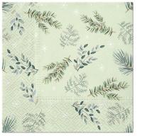 Serviettes 33x33 cm - Delicate Twigs