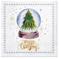 Napkins 33x33 cm - Magical Christmas Tree