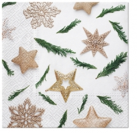 Napkins 33x33 cm - Star Decorations