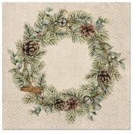 Servilletas 33x33 cm - We Care Christmas Garland