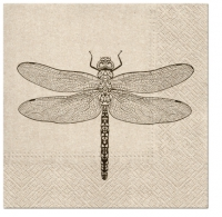 Serviettes 33x33 cm - We Care Dragonfly
