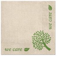Serviettes 33x33 cm - We Care Tree