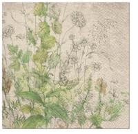 Serviettes 33x33 cm - We Care Meadow