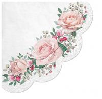 Servilletas - Redondas - Gorgeous Roses