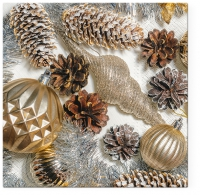 Servilletas 33x33 cm - Frozen Christmas