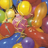 Tovaglioli 33x33 cm - Colourful balloons