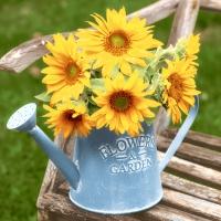 Servietten 24x24 cm - Flowers & garden