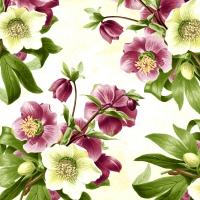 Servilletas 24x24 cm - Easter rose