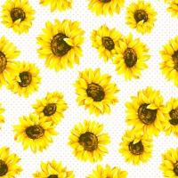 Serviettes 33x33 cm - Sunflower Garden