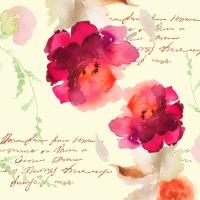Serviettes 33x33 cm - Poem