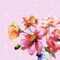 Serviettes 33x33 cm - Wild Florals