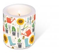 decorative candle - Gardening