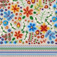 Servilletas 24x24 cm - Embroidery