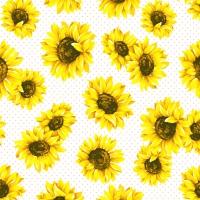 Servilletas 24x24 cm - Sunflower Garden