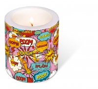decorative candle - Ouch