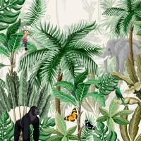 Serviettes 24x24 cm - Rainforest